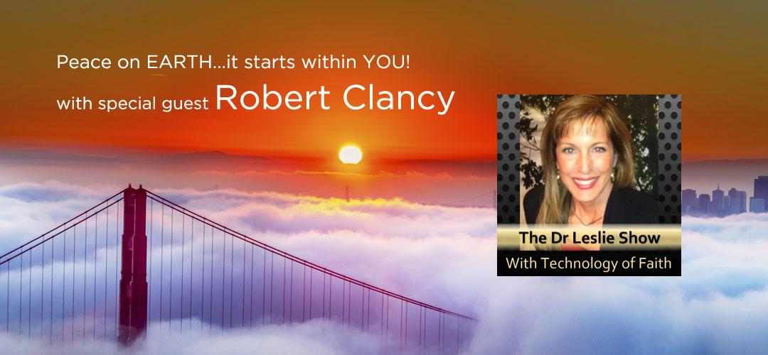 The Dr Leslie Show with special guest Robert Clancy