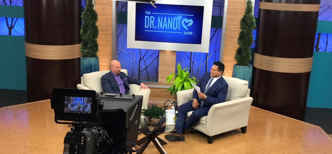 Robert Clancy to appear on upcoming season of the Dr. Nandi Show